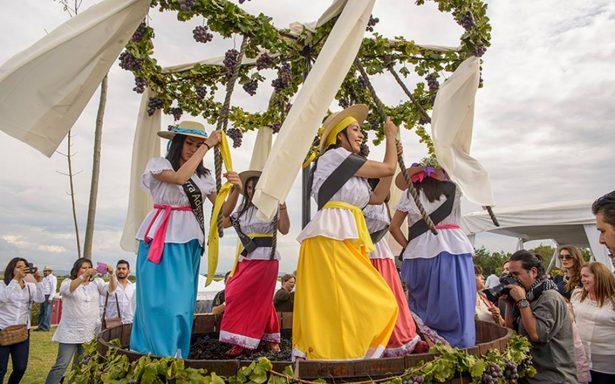 Realizan Fiesta de la Vendimia en Zacatecas