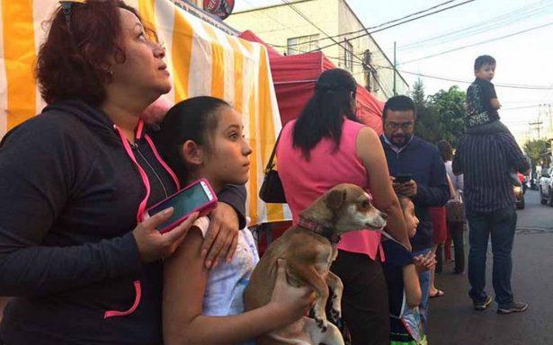 [Videos] México se estremece de nuevo con sismo de 7.2