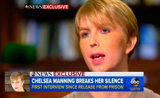 Chelsea Manning agradece a Obama en su primera entrevista por TV