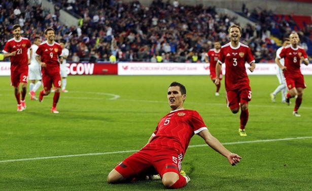 Rusia empata 1-1 con Chile