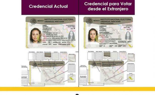 INE registra a 417 mil mexicanos en el extranjero con credencial para votar