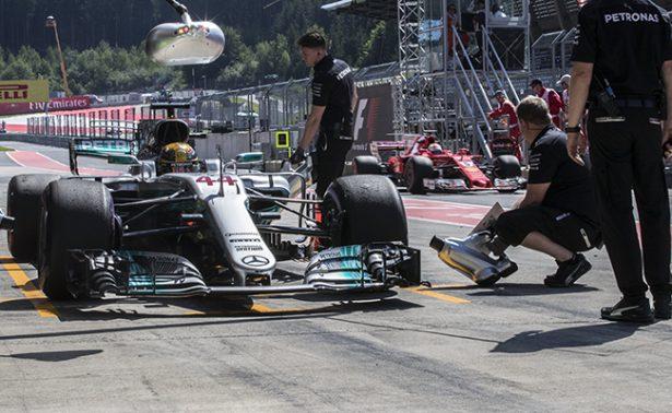 Hamilton, inalcanzable en el segundo ensayo para el Gran Premio de Austria