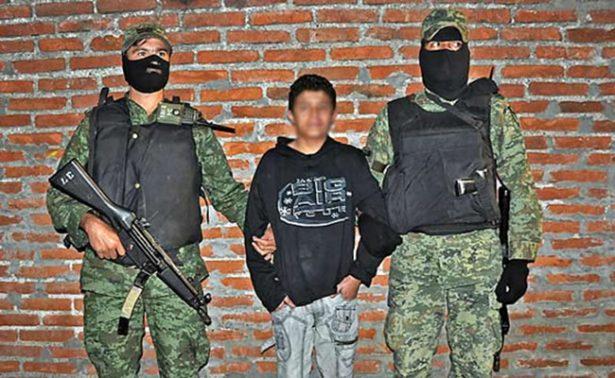 Capturan a sicario de 15 años en Playa del Carmen