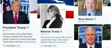 Twitter transfiere el poder a Donald Trump, ahora él será @POTUS