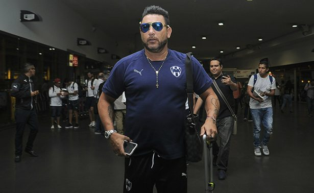 Llegó Monterrey para enfrentar a Pumas