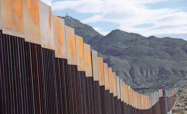 Trump solicita 18 mil mdd al Congreso para construir muro