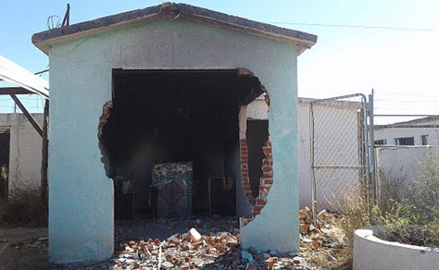 """Destruyen capilla del """"Santo de los Narcotraficantes"""""""