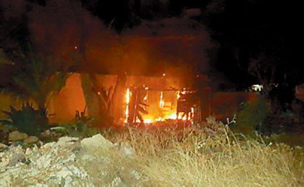 Incendian viviendas desalojadas en Cancún