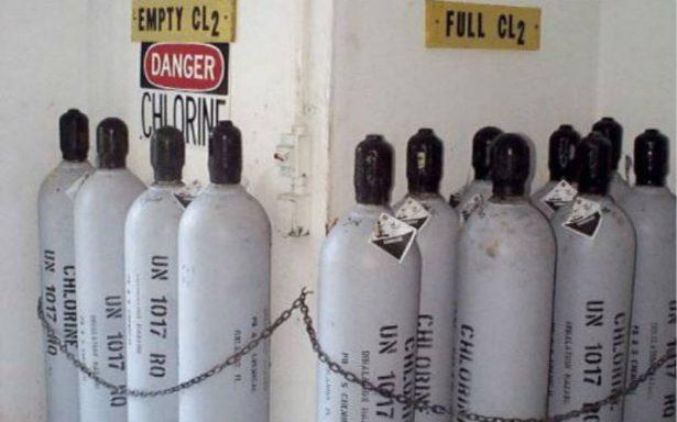 Emiten alerta en Ensenada por robo de cilindro que contiene cloro