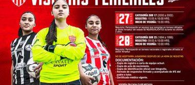 Necaxa lanza convocatoria para visorías en futbol femenil