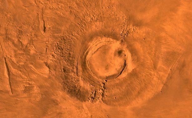 Volcán en Marte y dinosaurios en la Tierra se extinguieron al mismo tiempo: NASA