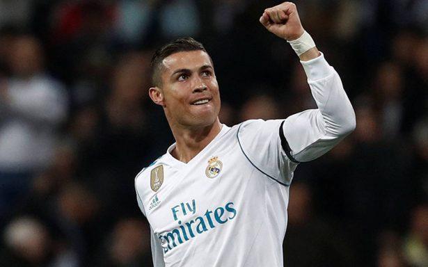 Cristiano Ronaldo por su quinto galardón como mejor jugador del año