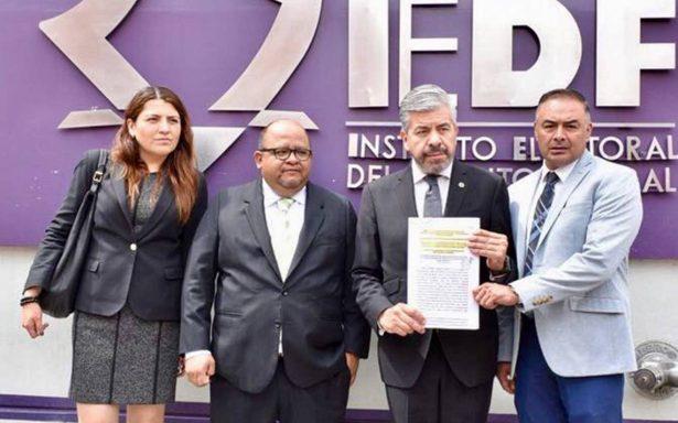 PRD contra Morena: presentan queja por actos anticipados de campaña