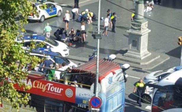 Líderes del mundo condenan ataque terrorista en La Rambla, Barcelona