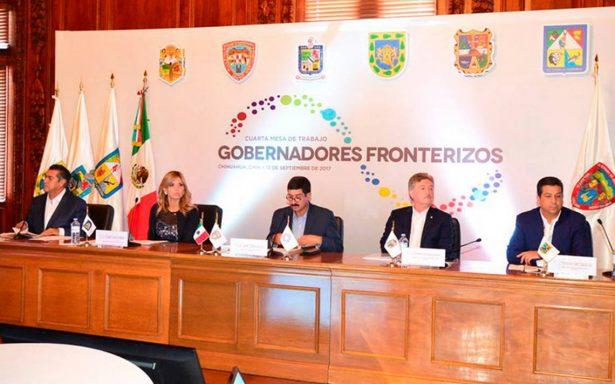 Arranca reunión de gobernadores fronterizos encabezados por Javier Corral