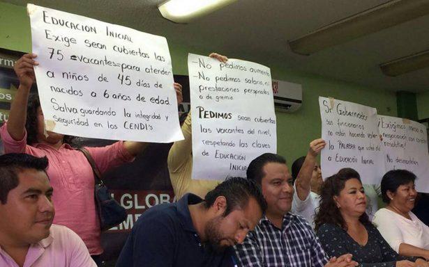 Arremete la CNTE contra Educación de Oaxaca