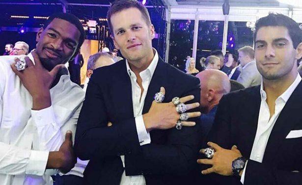 Los Patriotas recibieron sus anillos de campeón