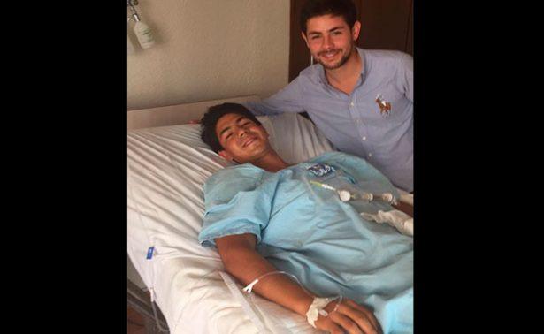Novillero José María Hermosillo se recupera tras cornada