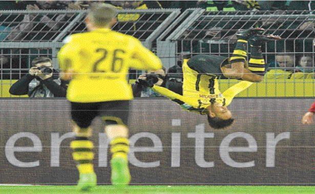 Borussia Dortmund le ganó al  Ingolstadt, en partido de la fecha 25 de la Liga alemana.