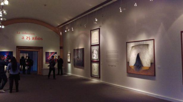 Inauguran exposición de José Luis Cuevas a días de su muerte