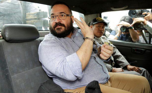 Tras extradición, PGR buscará que Duarte sea recluido en penal federal