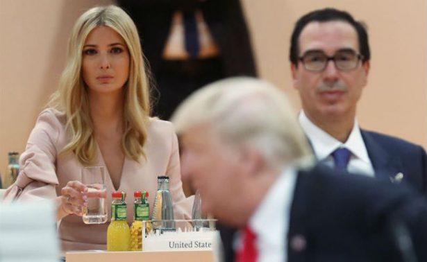 Ivanka causa revuelo por sustituir a Trump en mesa del G20