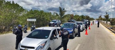 """Refuerzan seguridad en carreteras por """"puente"""" del 1 de Mayo"""