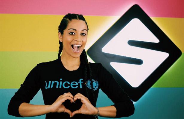 ¡Famosa youtuber, la nueva embajadora para Unicef!