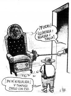 La silla de Duarte…