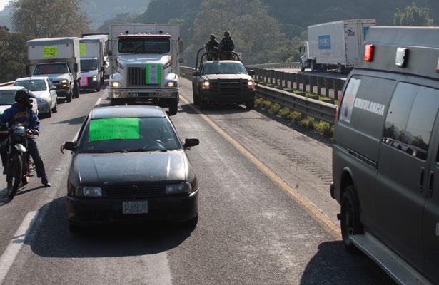 Siguen protestas contra el gasolinazo