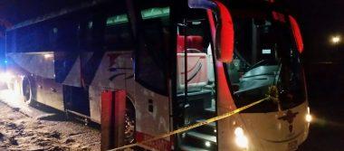 Matan a chofer de autobús y golpean a pasajeros en asalto, en Papantla
