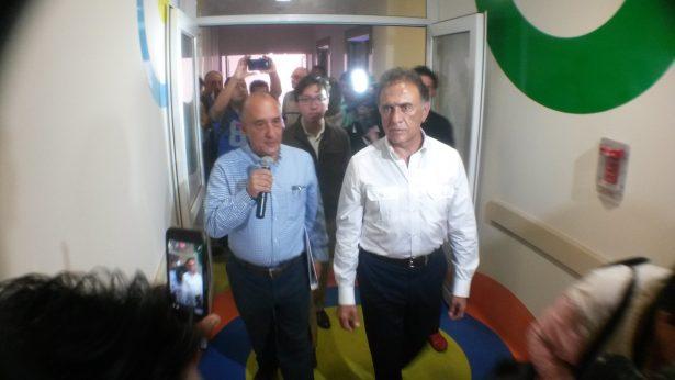 No aparece equipo médico de la Torre Pediátrica: Yunes Linares
