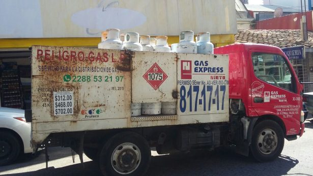 Incrementó considerablemente el costo de gas LP