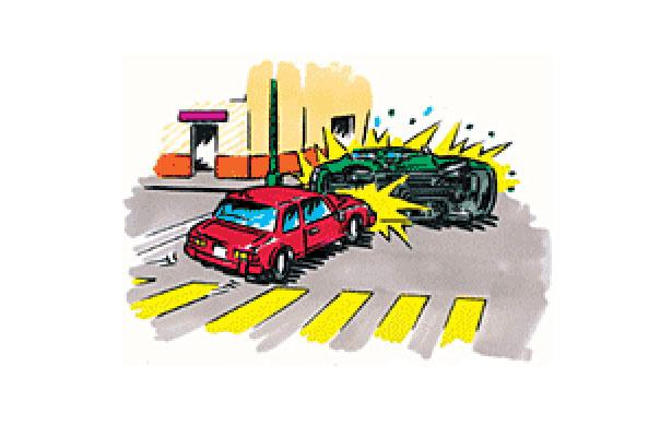 Feng Shui/ Accidentes automovilísticos