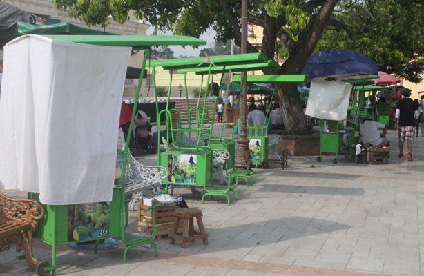 """Disgusta a ayuntamiento """"color"""" de boleros en Papantla"""