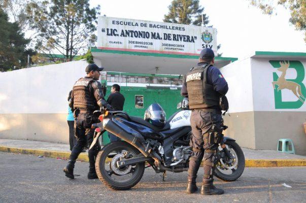Operativo Mochila en la Antonia María de Rivera ante amenazas