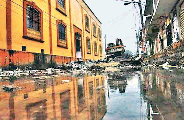 El 40% de la zona centro de Papantla está sin agua