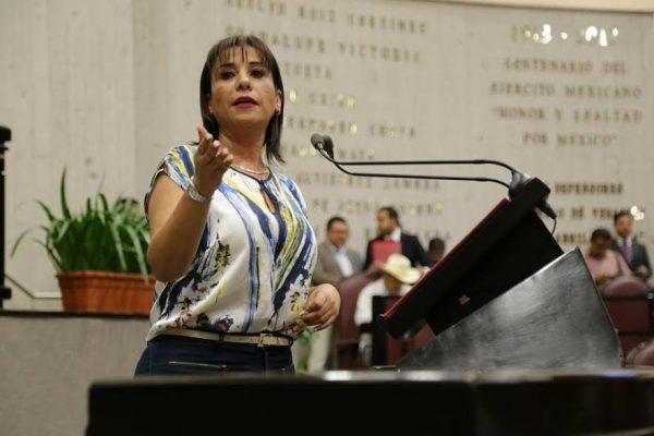 Asegura Mariana Dunyaska que no busca la presidencia de la Comisión de Atención a Periodistas