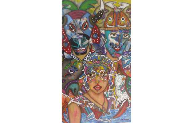 El arte, un jolgorio digno del Rey Momo