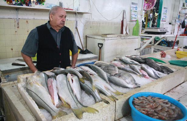 Cae 30% venta de mariscos en Tuxpan