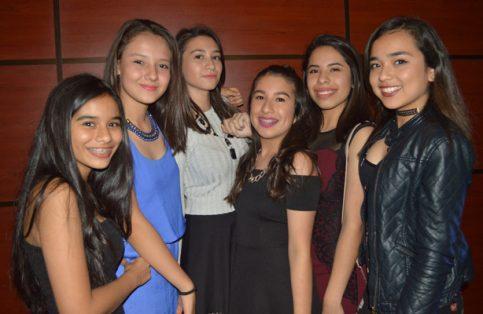 Adriana López, Karen de la Torre, Mariana Saenz, Paola Magaña, Ilse Martínez y Lorena Ugalde.