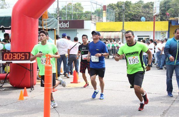 Un éxito, la carrera atlética de Poza Rica