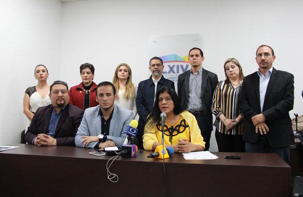 Tras negativa de renegociación de deuda, piden PAN y PRD suspender pagos