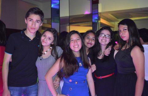 Luis Joel Caballero, Valería Pérez, Sarahí Dorantes, Alison Herrera, Karen Pérez y Abi Bautista.