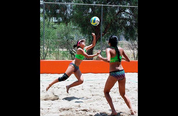 Veracruz calificó seis duplas de voleibol playero a la Olimpiada Nacional 2017