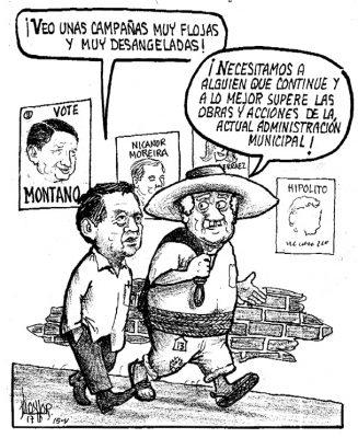 Luchando por los votos xalapeños…