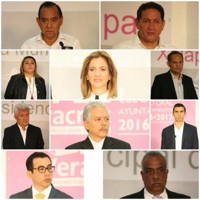Debaten candidatos a la alcaldía de Xalapa