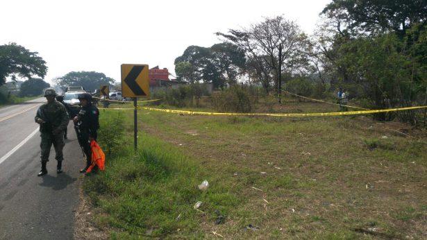 Hallan descuartizado a hombre en la carretera Córdoba-Veracruz