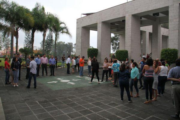 """Realizan simulacro de temblor en el  Poder Legislativo; reportan tres """"lesionados"""""""