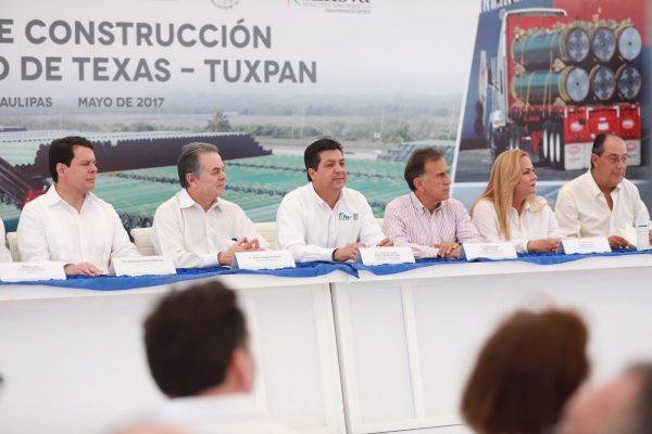Gasoducto de Texas-Tuxpan generará miles de empleos en el norte del Estado: gobernador